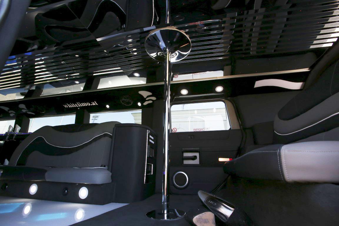 Stretchlimousine Hummer Innenraum